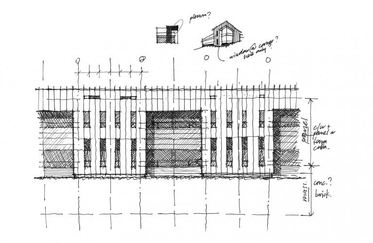 Sketch, Elevation