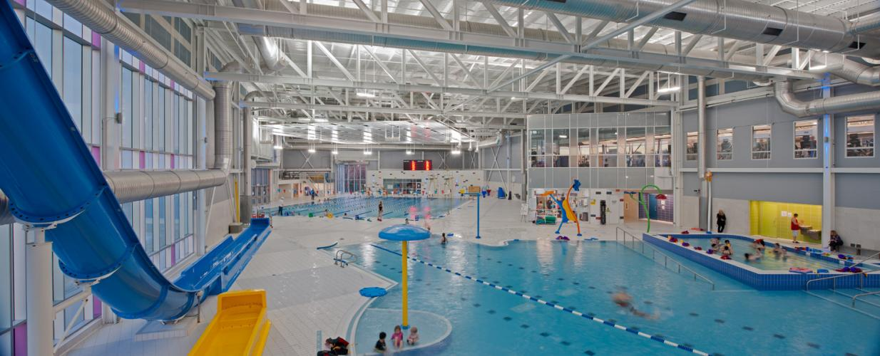 Canada games centre dsra Cost of building a public swimming pool