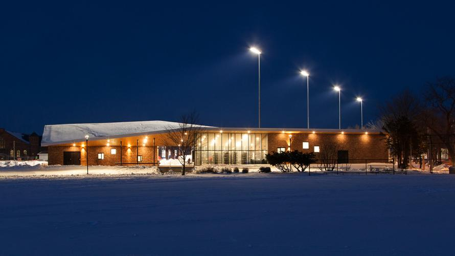 Emera Oval Night Time