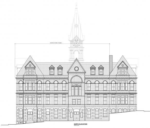 Halifax City Hall North Elevation